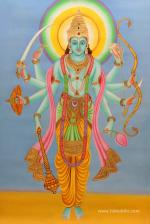 Morning prayer to Vishnu